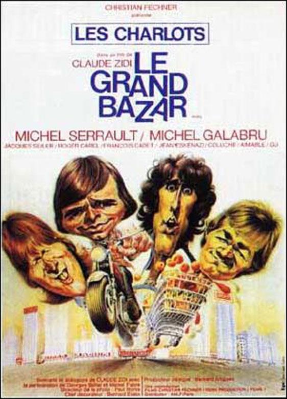 Les charlots - Le Grand bazar affiche